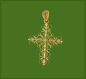 Filigree Cross