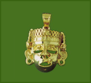 Xipe-Totec Large Charm