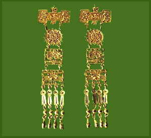 Tachtli Drop Earrings