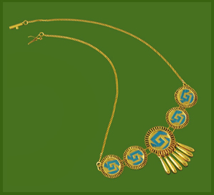 5 Chimallis Necklace
