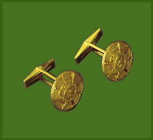 Tachtli Medium Cufflinks
