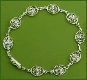 Filigree Oval