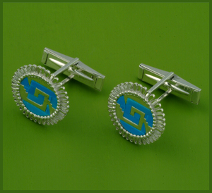 Small Chimalli Cufflinks