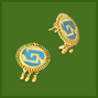 Small Chimalli Earrings