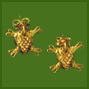 Pre-Columbian Turtle Earrings