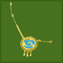 Small Chimalli Necklace