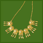 Pre-Columbian Half-Bead Necklace